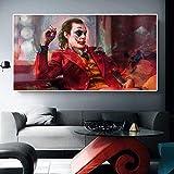 UIOLK Todd Phillips película Payaso Lienzo Pintura Mural Cartel y Sala de Estar Foto Mural hogar Bar decoración de Cine