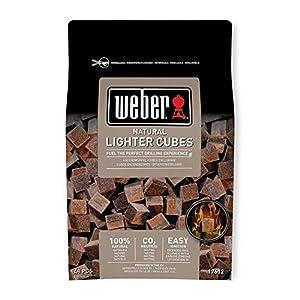 Weber 17612 – Bolsa de 48 pastillas de encendido marrón