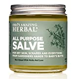 All Purpose Salve, Healing Ointment, Hand Salve, Chafing Cream, Dry Elbows, Cracked Heels, Folliculitis, Jock Itch Cream, Skin Soothing, Itchy Skin Relief, Dry Hands, 4 oz, Ora's Amazing Herbal