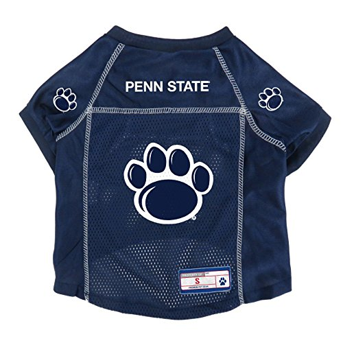 Littlearth NCAA Penn State Nittany Lions Pet Jersey, Medium