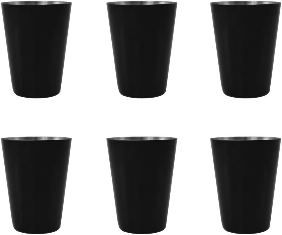 Gifts Max 87% OFF Infinity Party Black Stainless Max 71% OFF Steel Ounce Shot - Glass 2