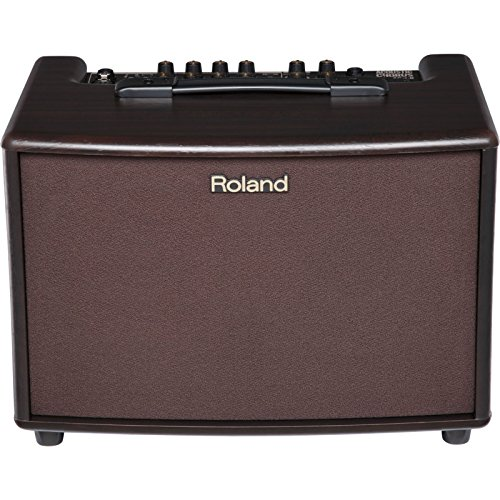 Roland AC-60 Acoustic Chorus Guitar Amplifier with Dual 30-Watt 6.5-inch Speakers, rosewood...