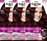 Poly Palette Perfect Gloss Color 389 Rubinrot - 3er Pack