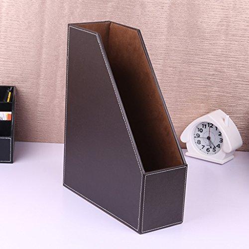 Fichier Boîte Panier Triple File Frame Données Stand Livre Dossier Creative Desktop Fournitures de bureau Etagères ( Couleur : # 2 )