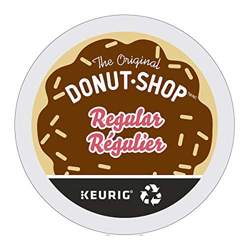 The Original Donut Shop Single Serve Keurig Certified Recyclable K-Cup pods for Keurig brewers, 12 Count