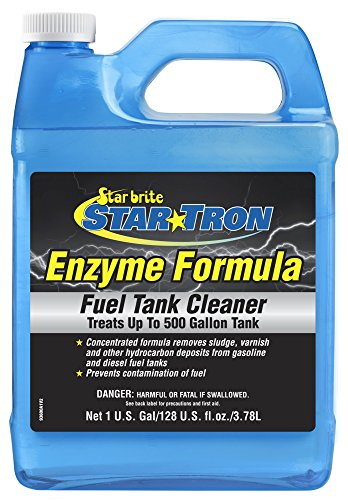 STAR BRITE Tron Gas Tank & Fuel System Cleaner - Remove Sludge & Deposits from Gasoline & Diesel Fuel Tanks + Clean Injectors & Fuel Lines, 128 Fluid Ounce, 093600N