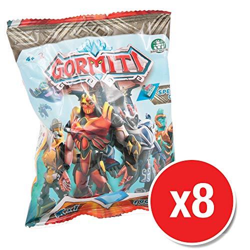 Gormiti GRM00220 Mini Figures Wave 1 (8 Packs supplied)