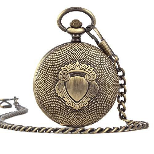 Relojes de Bolsillo Relojes de Bolsillo de Moda Relojes de Bolsillo mecánicos Retro Flip Lupa 200
