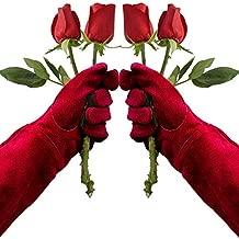 Thorn Proof Gardening Gloves,Long Sleeve Rose Pruning & Cactus Gloves for Women & Men,Best Garden Gifts & Tools for Gardener (Rose)