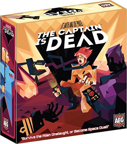 Alderac Entertainment ALD05897 Brettspiel The Captain is Dead