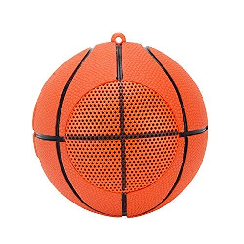 Mini Bluetooth Wireless Speaker Creative Basket Ball Shape Speaker Hands-Free Call with Super Bass...