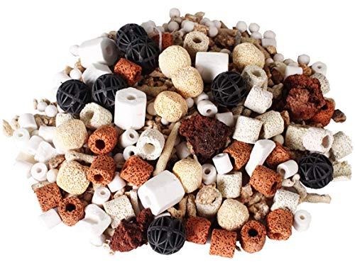 ZOOPOLR 500g Bio Balls Ceramic Rings Set