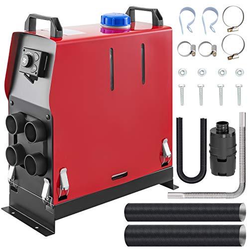 VEVOR 12V Diesel Lufterhitzer, 5KW Air Standheizung, standheizung diesel, Luft Dieselheizung, Air Diesel Heizung, Air Standheizung, Aluminium für Wohnmobile mit Drehschalter geräuscharm