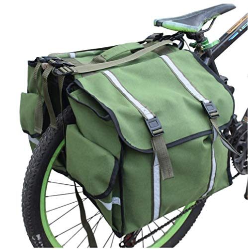 Great Features Of HALAWAKA Motorcycle Bicycle Rear Seat Carrier Bag Saddlebags Trunk Bags Bike Commu...