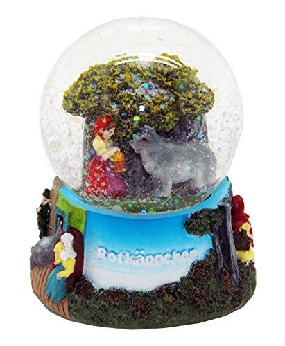 Minium Collection 30035 Märchen Schneekugel Rotkäppchen und der böse Wolf 65mm