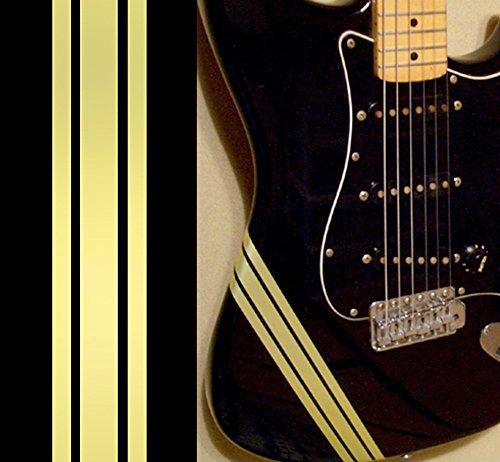 baratos y buenos Calcomanías adhesivas para guitarra y bajo Racing Stripes / Competition Line – Champagne Gold calidad