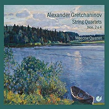 Gretchaninov: String Quartets Nos. 2 & 4