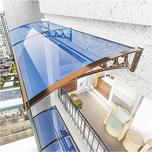 QYQPB Dach Vordach, Markise Aus Aluminiumlegierung, Haushalt Regenschutz Überdachung Im Vordach Türdach (Size : 80 * 100cm)