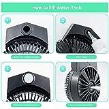 Immagine 2 agaky mini ventilatore portatile usb