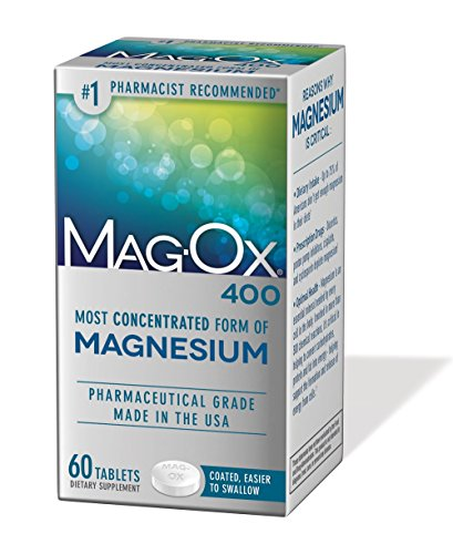 Mag-Ox 400 Magnesium Mineral Dietary Supplement...