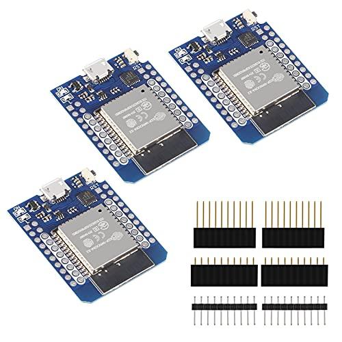 ALMOCN 3 placas de desarrollo NodeMCU ESP32 ESP-WROOM-32 WLAN Bluetooth IoT 5V compatible para Arduino