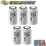 5pc Exell S28PX 6V Silver Oxide Battery 4SR44, V28PX, PX28, 544,