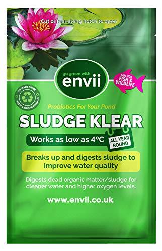 Envii Sludge Klear – Tratamiento para Limpieza de Lodo en Estanques, Limpia...
