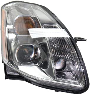 Headlight Assembly Compatible with 2004-2006 Nissan Maxima Halogen Passenger Side
