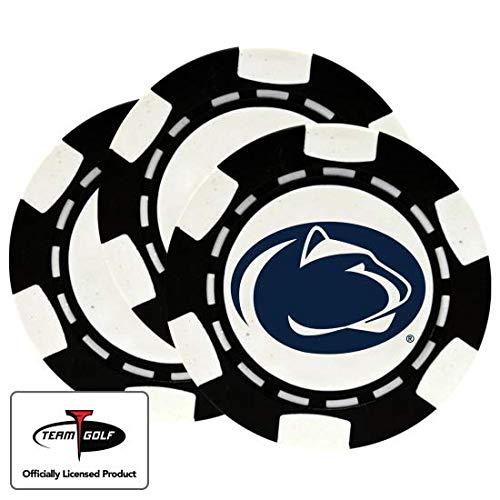 Golfballs.com Classic Penn State Nittany Lions Poker Chips - 3 Pack