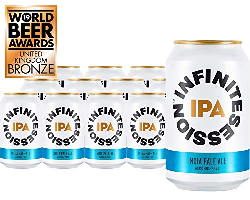 Infinite Session Birra senza alcol (IPA, confezione da 12 lattine)