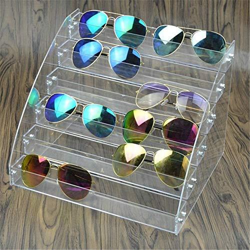 Fictory Zonnebril, organizer, acryl, organizer, multilayer, vitrine tabletop brillen, opbergdoos