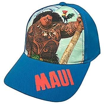 Disney Moana Maui and Heihei Girls Baseball Cap - Toddler/Little Kids Blue