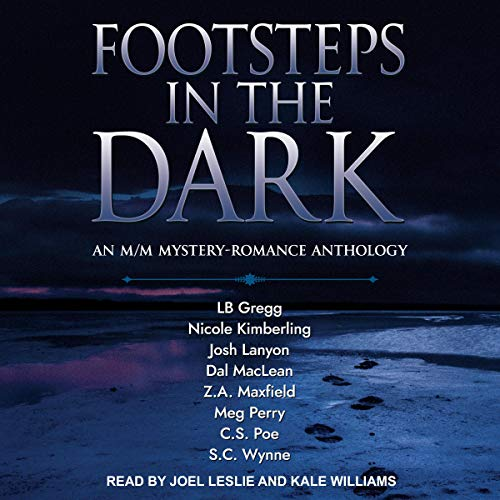 Footsteps in the Dark audiobook cover art