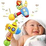 aovowog Sonajeros Juguetes Bebés 3 6 9 12 Meses,Montessori Muñeca de Peluche...