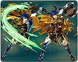 Ventilador de anime,Regalo de anime,Regalos de cosplay, Alfombrilla de ratón con emblema de fuego SDFG-654651- Mercenary IKE Mousepad