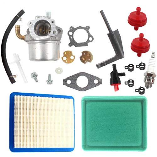 AISEN Carburetor for Troy-Bilt Model 12180 Bronco RotoTillers 3750 PowerMate Generator 21A-342 062 MTD Yardman Tiller with OHV Engine Craftsman 917.291482 Front Tine Tiller Carb