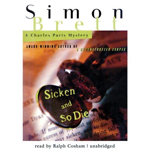 Sicken and So Die audiobook cover art