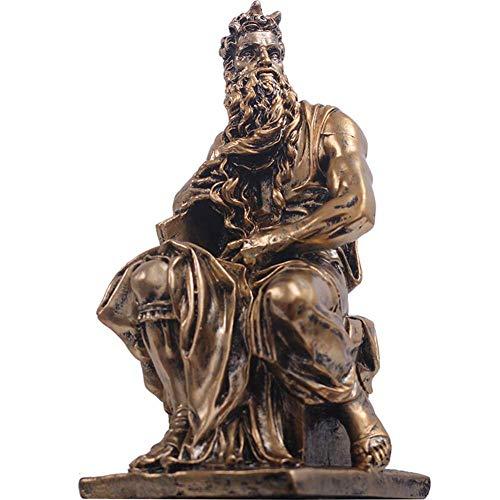 Mnjin Decoracin del hogar Figura Griega Antigua Estatua, Escultura de Tales Estatua del filsofo Griego Antiguo Modelo de Personaje