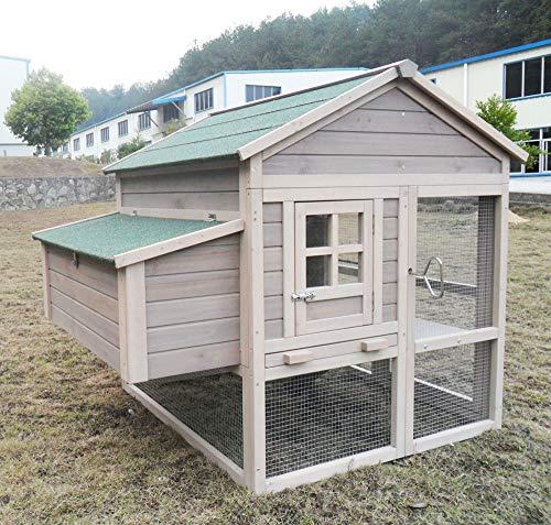 """Hühnerstall Hühnerhaus Chickenhouse Nr. 04 """"Pickerparadies"""" mit Eierbox und Freilauf - 3"""