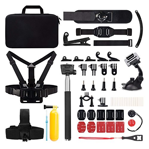 Victure Action Camera Accessories Outdoor Sports Combo Kit for APEMAN/Victure/AKASO/DBPOWER/Campark/Crosstour
