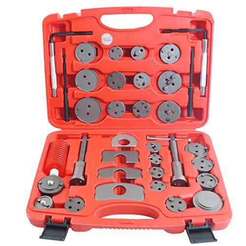 CCLIFE Repousse piston de frein - Coffret repousse piston frein (35pcs) - réinitialiser les pistons de frein - repousse piston frein universel