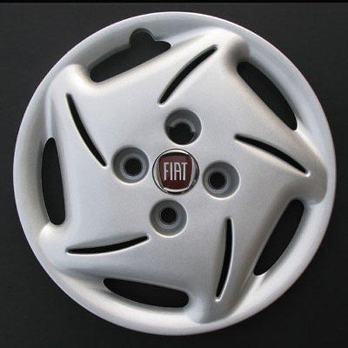Jeu de 4 Enjoliveurs Neuf pour Fiat Seicento avec Roues Originales en 13 Pouces