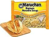 Maruchan Roast Chicken Flavor Ramen Noodle Soup, 3oz Package (24 Count)