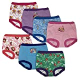 Disney - Multipacks de entrenamiento para niños pequeños, Princess 7pk Potty Training Pants, 2 Años