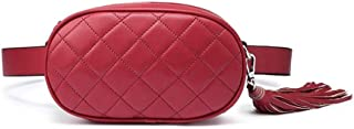 YWSCXMY-AU Fanny Pack Women Waist Packs Female Shoulder Bags for Crossbody Bags for Women Fashion Chest Bag (Color : Red)