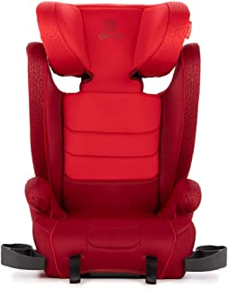 Diono Monterey XT Latch, 2-in-1 Expandable Booster Seat, Red
