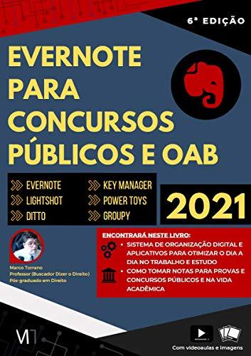 Evernote para concursos públicos e OAB