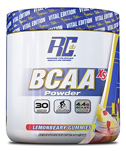 BCAA XS Powder, Lemonbeary Gummies - 183g