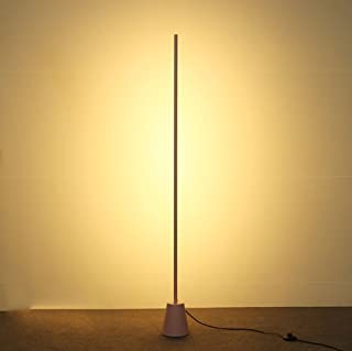*lampe de sol Lampadaire Moderne Europe du Nord Salon Canapé Chambre Lampe LED Tube Lumière / 16W Blanc Chaud Light3000K L...