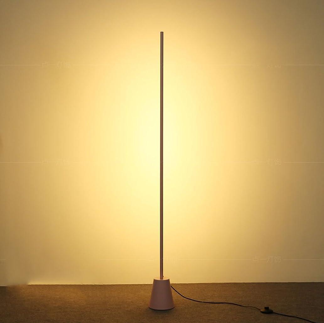 $Floor Lamp Floor Lamp Modern Northern Europe Living Room Sofa Bedroom Lamp LED Light Tube/16W Warm White Light3000K ihb7047281